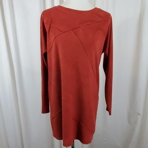 SOFT SURROUNDINGS Burnt Red Tunic